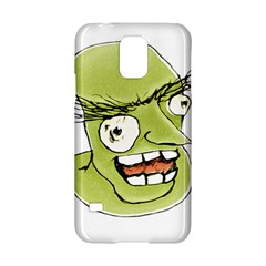 Mad Monster Man With Evil Expression Samsung Galaxy S5 Hardshell Case
