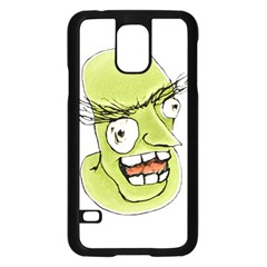 Mad Monster Man With Evil Expression Samsung Galaxy S5 Case (black)