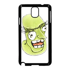 Mad Monster Man with Evil Expression Samsung Galaxy Note 3 Neo Hardshell Case (Black)