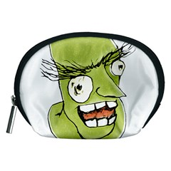 Mad Monster Man with Evil Expression Accessory Pouch (Medium)