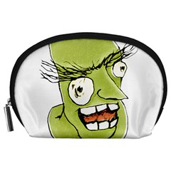 Mad Monster Man with Evil Expression Accessory Pouch (Large)