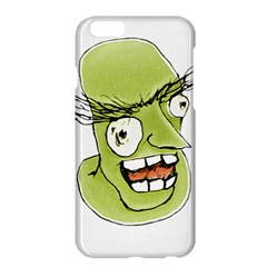 Mad Monster Man with Evil Expression Apple iPhone 6 Plus Hardshell Case