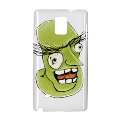 Mad Monster Man with Evil Expression Samsung Galaxy Note 4 Hardshell Case