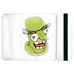 Mad Monster Man With Evil Expression Apple Ipad Air 2 Flip Case