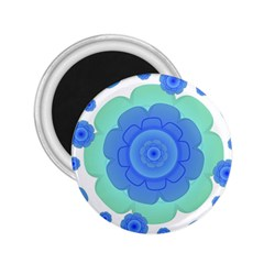 Retro Style Decorative Abstract Pattern 2 25  Button Magnet