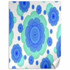Retro Style Decorative Abstract Pattern Canvas 12  X 16  (unframed)