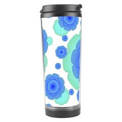 Retro Style Decorative Abstract Pattern Travel Tumbler