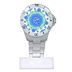 Retro Style Decorative Abstract Pattern Nurses Watch