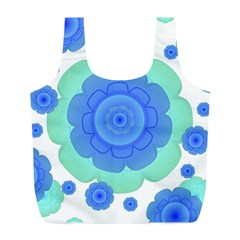 Retro Style Decorative Abstract Pattern Reusable Bag (L)