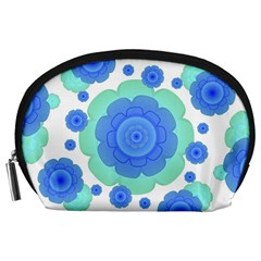 Retro Style Decorative Abstract Pattern Accessory Pouch (large)