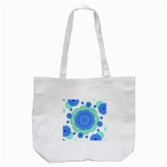 Retro Style Decorative Abstract Pattern Tote Bag (white)
