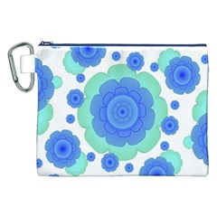 Retro Style Decorative Abstract Pattern Canvas Cosmetic Bag (XXL)