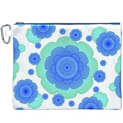 Retro Style Decorative Abstract Pattern Canvas Cosmetic Bag (XXXL)