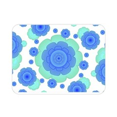 Retro Style Decorative Abstract Pattern Double Sided Flano Blanket (mini)