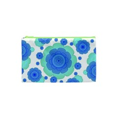 Retro Style Decorative Abstract Pattern Cosmetic Bag (xs)