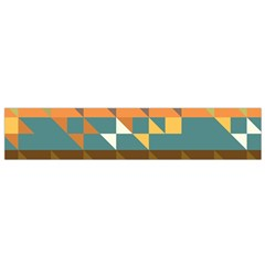 Shapes In Retro Colors Flano Scarf (small)