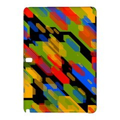 Colorful shapes on a black background Samsung Galaxy Tab Pro 12.2 Hardshell Case