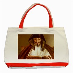 Anonymous Reading Classic Tote Bag (red)