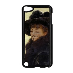 Anonymous Reading Apple iPod Touch 5 Case (Black)