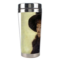 Anonymous Reading Stainless Steel Travel Tumbler