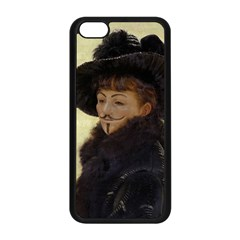Anonymous Reading Apple iPhone 5C Seamless Case (Black)