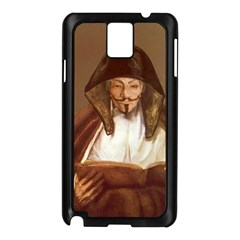 Anonymous Reading Samsung Galaxy Note 3 N9005 Case (Black)