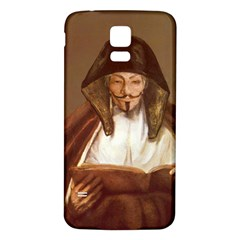 Anonymous Reading Samsung Galaxy S5 Back Case (white)