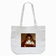 Anonymous Reading Tote Bag (White)