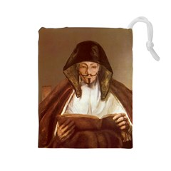 Anonymous Reading Drawstring Pouch (Large)