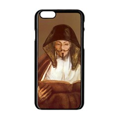 Anonymous Reading Apple Iphone 6 Black Enamel Case