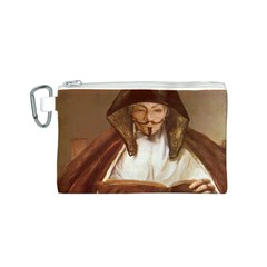 Anonymous Reading Canvas Cosmetic Bag (small)