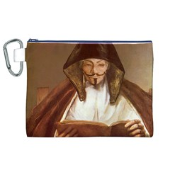 Anonymous Reading Canvas Cosmetic Bag (XL)