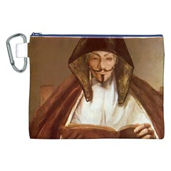 Anonymous Reading Canvas Cosmetic Bag (XXL)