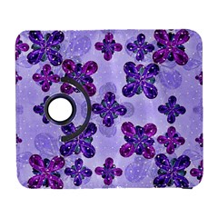 Deluxe Ornate Pattern Design In Blue And Fuchsia Colors Samsung Galaxy S  Iii Flip 360 Case