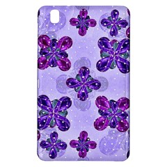 Deluxe Ornate Pattern Design in Blue and Fuchsia Colors Samsung Galaxy Tab Pro 8.4 Hardshell Case