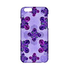 Deluxe Ornate Pattern Design in Blue and Fuchsia Colors Apple iPhone 6 Hardshell Case