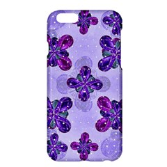 Deluxe Ornate Pattern Design In Blue And Fuchsia Colors Apple Iphone 6 Plus Hardshell Case