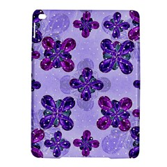 Deluxe Ornate Pattern Design In Blue And Fuchsia Colors Apple Ipad Air 2 Hardshell Case