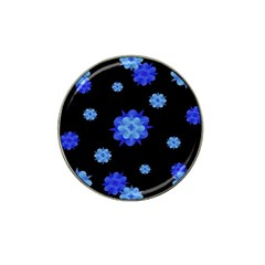 Floral Print Modern Style Pattern  Golf Ball Marker 10 Pack (for Hat Clip)