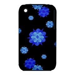 Floral Print Modern Style Pattern  Apple Iphone 3g/3gs Hardshell Case (pc+silicone)