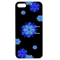 Floral Print Modern Style Pattern  Apple Iphone 5 Hardshell Case With Stand