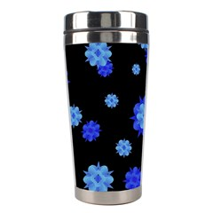 Floral Print Modern Style Pattern  Stainless Steel Travel Tumbler