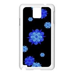 Floral Print Modern Style Pattern  Samsung Galaxy Note 3 N9005 Case (white)