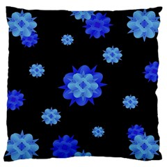 Floral Print Modern Style Pattern  Standard Flano Cushion Case (two Sides)