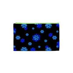 Floral Print Modern Style Pattern  Cosmetic Bag (XS)