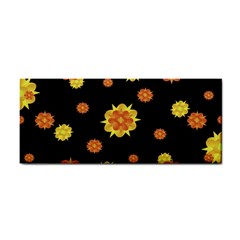 Floral Print Modern Style Pattern  Hand Towel