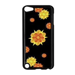 Floral Print Modern Style Pattern  Apple iPod Touch 5 Case (Black)