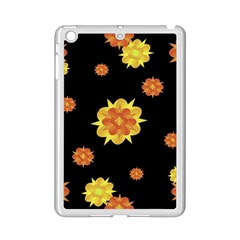 Floral Print Modern Style Pattern  Apple iPad Mini 2 Case (White)