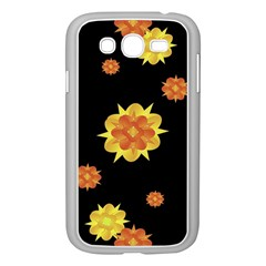 Floral Print Modern Style Pattern  Samsung Galaxy Grand Duos I9082 Case (white)