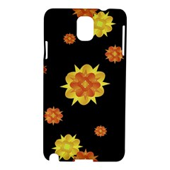 Floral Print Modern Style Pattern  Samsung Galaxy Note 3 N9005 Hardshell Case